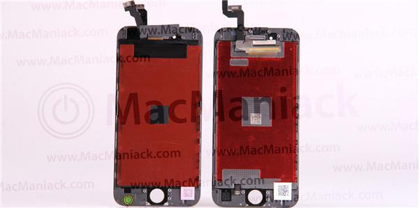 iPhone 6s与iPhone 6屏幕对比