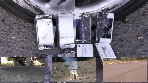 作死!用 iPhone 当保时捷911的刹车片!