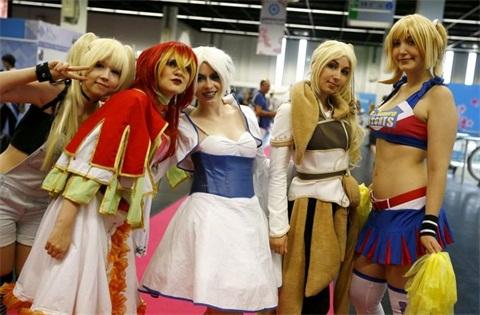 德国游戏展 带你看看不一样的欧洲cosplay