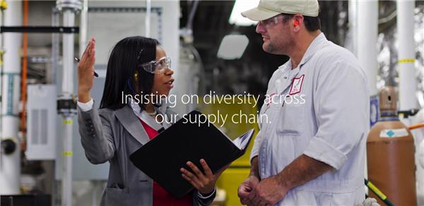 苹果发布员工多样性数据,过去1年中雇佣1.1万女性
