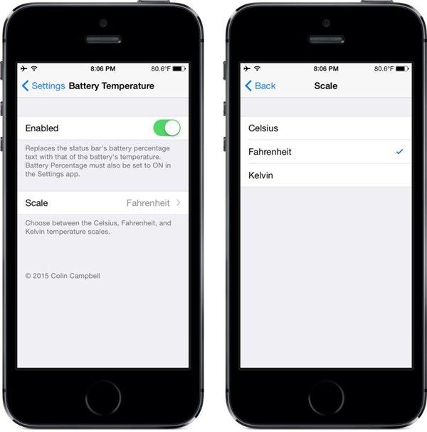 iPhone发热怎么办?状态栏实时监控电池温度