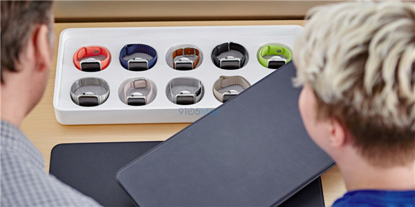 Apple Store 加速 Apple Watch 试戴服务,无需预约