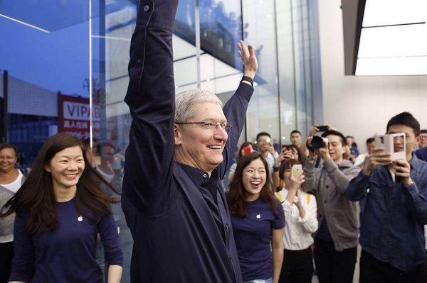 9月众多苹果新店开业