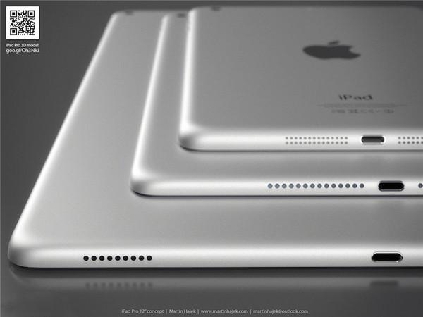 传 iPad Pro 的触控笔支持 Force Touch,10月量产