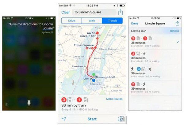 iOS9地图公交数据提供商名单公布 国内还是高德?