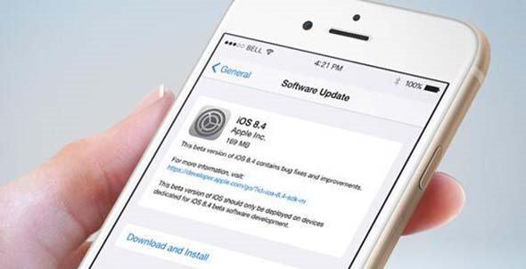 苹果已关闭iOS8.4验证