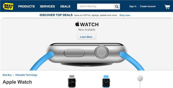 百思买 CEO:Apple Watch 需求太强烈,将扩大销售