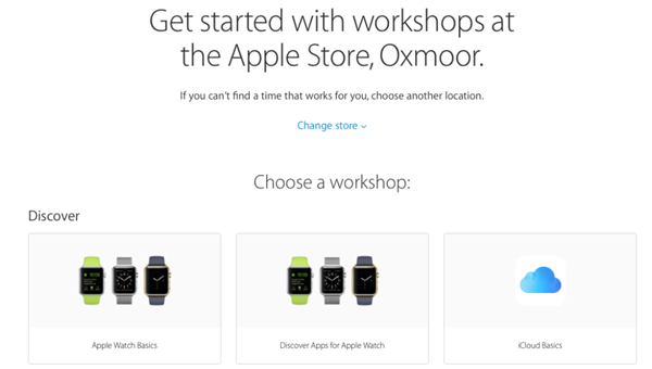 苹果在线预约页面迎更新  预约更便捷啦!