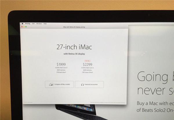 Apple Store开始用 iOS 和 Mac 应用显示产品价格信息