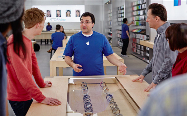 Apple Store 将推出 Apple Watch 移动试戴服务