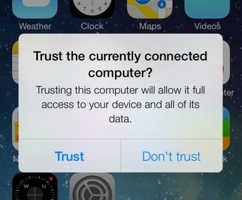 【爱思助手】如何取消设备信任所有电脑