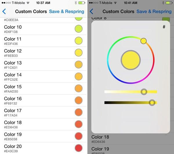让你的iPhone电量显示条更个性化