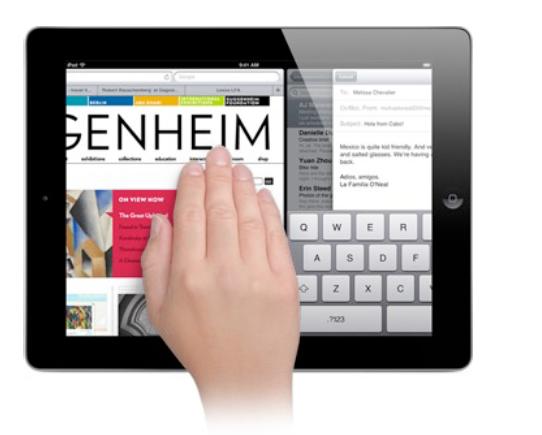 iPad专用快捷手势大盘点