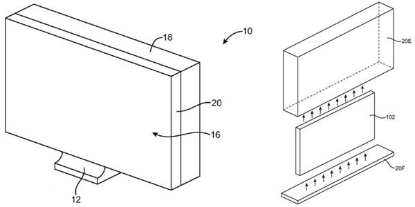 专利显示未来 iMac 后壳将使用玻璃面板?
