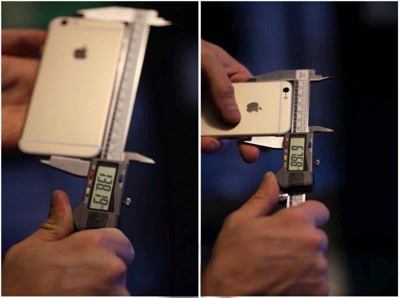 """新iPhone的""""三围""""都有所增加  手感更好?"""