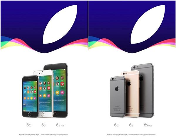 iPhone 6c渲染图:小屏+圆润机身尽显萌态