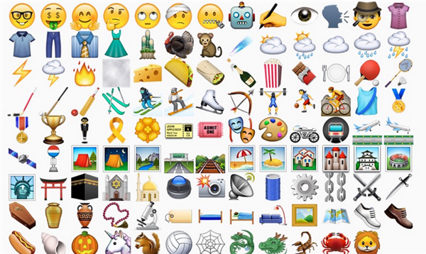 iOS 9.1测试版 将增添更多 emoji 表情