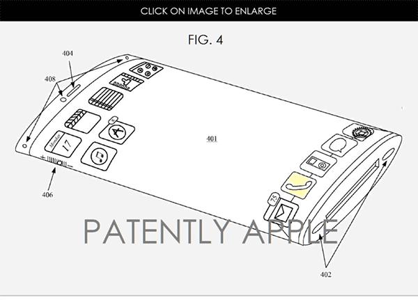 苹果新专利曝光:iPhone7或搭载曲面屏