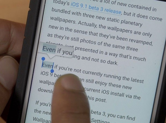 巧用3D Touch  轻松玩转iPhone6s