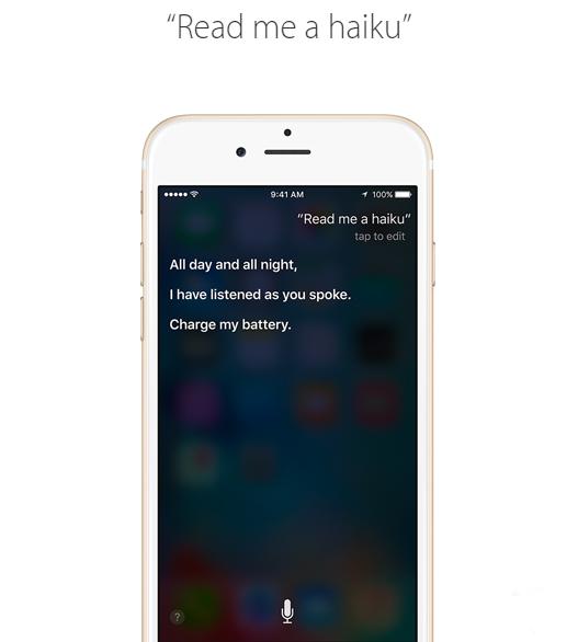 苹果官网教你如何与Siri更健康的玩耍