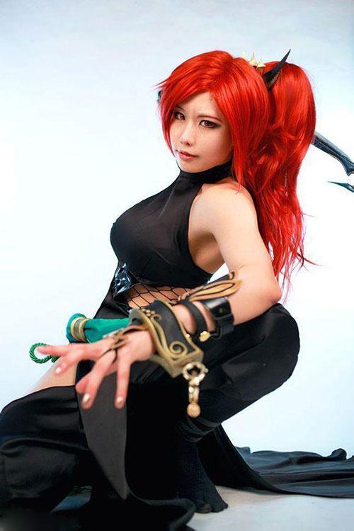 螺旋猫小萝莉Tasha中国之旅Cosplay欣赏