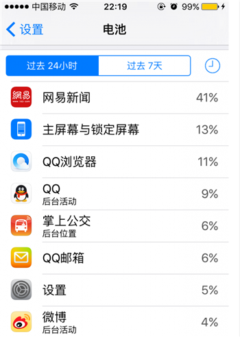 iOS9中,如何手动打开低电量模式?