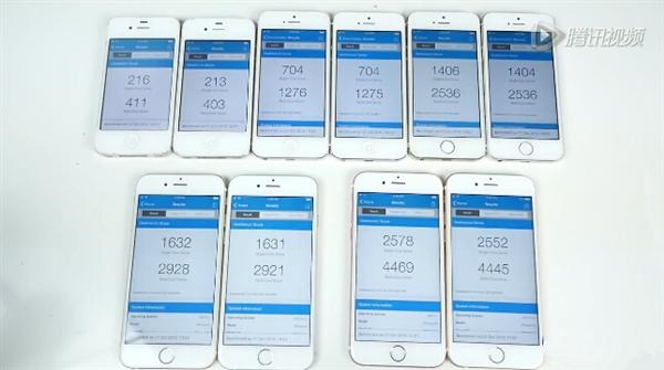 iOS 9.1下iPhone 4S/5/5S/6体验!
