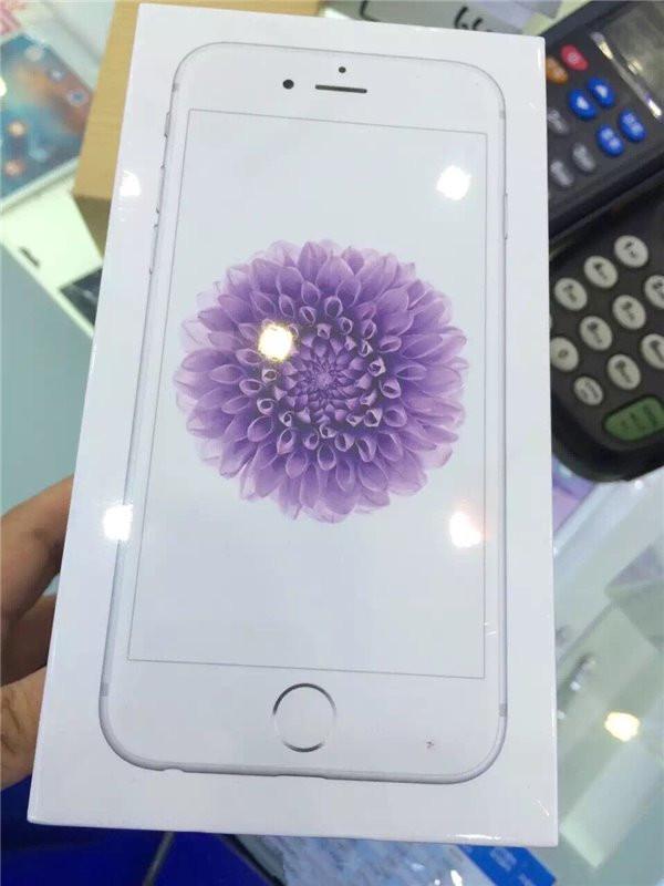 iPhone 6新包装上世: 大菊花亮瞎你的眼