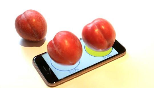 脑洞大开:苹果iPhone6s可当电子秤?
