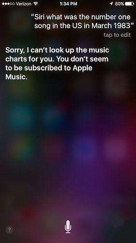 """""""智能""""Siri :不订阅 Apple Music就拒绝服务"""