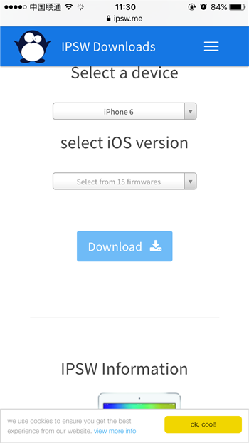 哪里可以查看iPhone固件是否关闭验证?