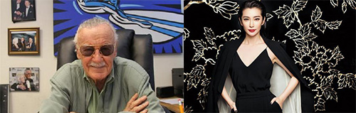 """""""漫威之父""""斯坦·李携手李冰冰打造中国首位""""超级女英雄"""""""