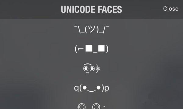 iOS9越狱插件推荐: Unicode表情键盘生动又可爱