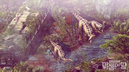 重返侏罗纪 Nexon最新作《野生之地》新预告片曝光