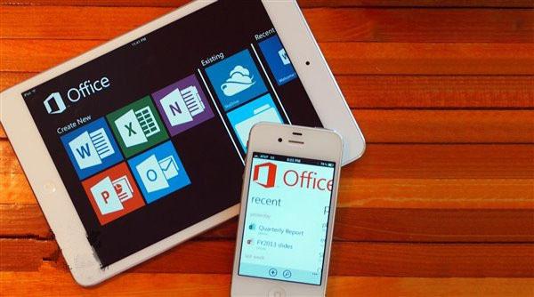 苹果iOS版Office更新:支持iOS9分屏多任务