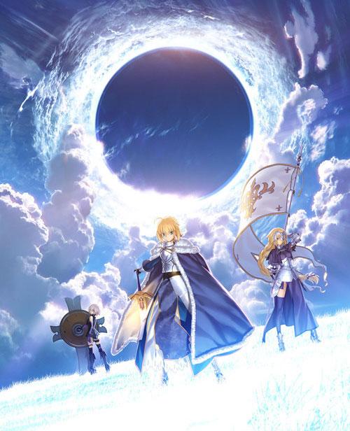 Fate系列最新作《FGO》曝光  B站获国服独家代理