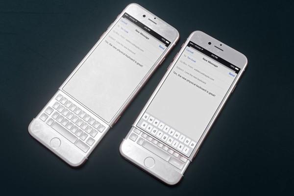 大胆幻想:iPhone配黑莓的Priv键盘会怎么样?