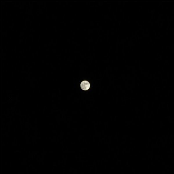 三步:教你用苹果iPhone6s拍出清晰的月亮
