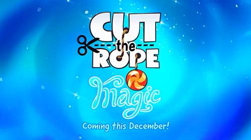 割绳子系列 5 周年新作《割绳子:魔法》