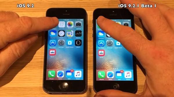 视频亲测:看看iOS 9.2.1更流畅还是更卡顿