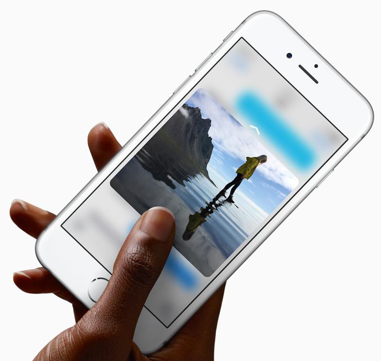 盲目跟风iPhone6s,真需要压感屏吗?