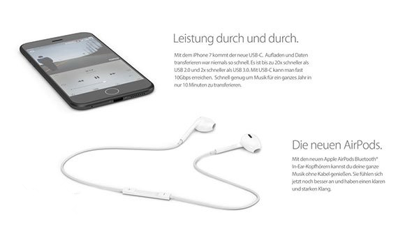 苹果iPhone7概念图赏:大白带、耳机接口都没