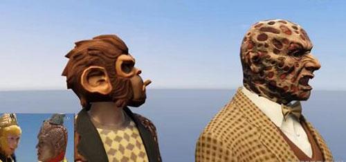 中国玩家用《GTA 5》神还原《西游记》片头画面