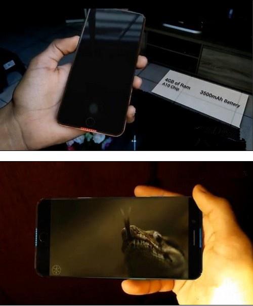 iPhone 7 Edge概念机照片流出 无边框超梦幻