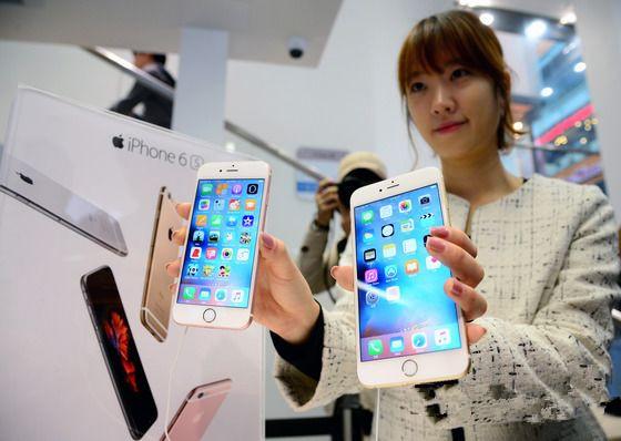 iPhone 6s称霸韩国高端市场 三星LG要哭了
