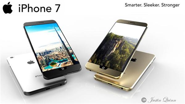 iPhone 7 概念:背部无天线Home键新设计