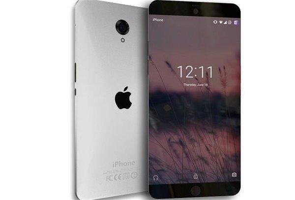 苹果iPhone7采用超窄边框屏幕很快会实现