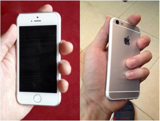 疑似iPhone 6c真机曝光 或产自华强北