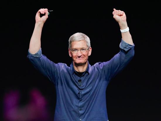 苹果高管工资揭晓:库克是最少