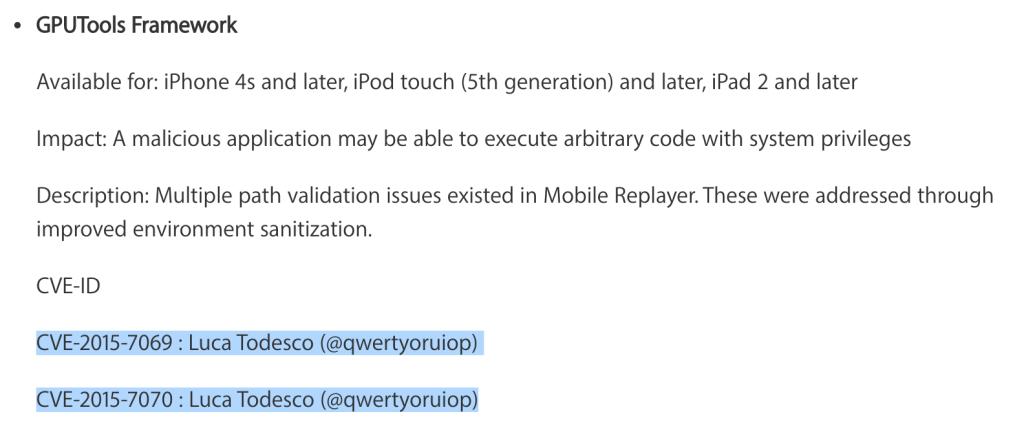 iOS 9.2.1越狱要发布?开发者:解决好bug就可越狱